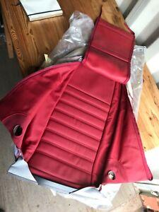Alfa Romeo Giulietta NEW GENUINE RH front red leather seat cover 185523810 23B3