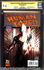 Human Torch Comics 70th Anniversary Special # 1 CGC 9.6 SS Stan Lee #0248365020