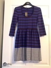 FRENCH CONNECTION Striped~Stretch~Skater Style Dress. Size 6 ⭐️NWT⭐️
