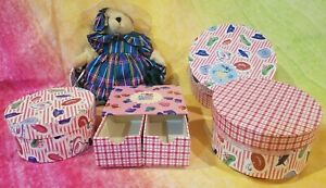 Muffy Miss Muffy Belle's Hat Shop+HAT+HAT BOX(3)in one+BOOT BOX (4)items +