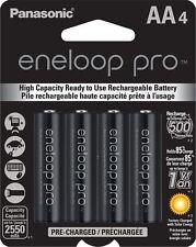 Panasonic BK-3HCCA4BA Eneloop Pro AA Pre-Charged Batteries 4 Pack up to 2550mAH
