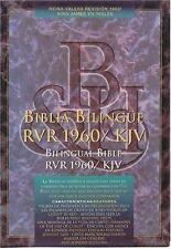 Bilingual Spanish English Bible - Biblia Bilingue Rvr 1960/KJV Black Hardcover