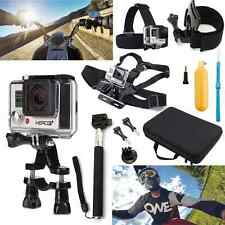 Accessories 12 Set in GoPro for Hero 1 HD 4 3+ Kit W