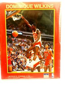 Dominique Wilkins 1988 Starline NBA Wall Art Poster Sealed