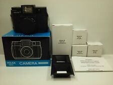HOLGA 120 FN Medium Format Point & Shoot Film Camera w/ Box and accessories