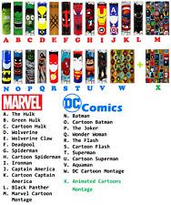 "24 pcs ""DC Marvel Comics Heroes Pack"" 18650 Lithium Battery Heat Shrink Wraps"