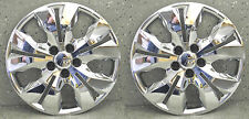 "(2) 2012-2016 CHEVY CRUZE 16"" CHROME HUBCAPS / WHEEL COVERS CM-9821-16"
