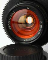 Anamorphic flare & Bokeh Lens 37 mm / F2,8 Mir 1v Cine CANON EF mount Wide Angle