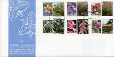 Bermuda 2016 FDC Bermuda in Bloom Part III 6v Set Cover Flowers Plants Stamps