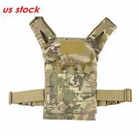 Outdoor Tactical Molle Kids Lightweight Vest Children Play Vest Chest Rig