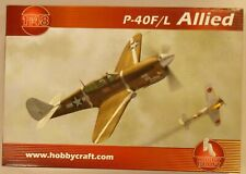 Hobby Craft 1/48 P-40F/L Warhawk US AF Allied WWII Fighter Model Kit 1417