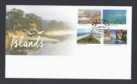AFD1381) Australia 2015 Islands of Australia FDC