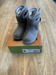 Baby Bogs Solid Toddler Size 6 Rain/snow Boots. Waterproof