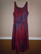 f93744def334 Aqua Brand Ladies Multicolor Uneven Hem Summer Sleeveless Dress Size S