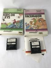 Facemaker and Kids on Keys by Spinnaker Commodore 64 C64 cartridge