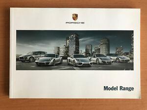 Porsche model range brochure 2012