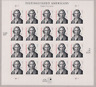US Harriet Beecher Stowe Sheet of 20 MNH Scott 3430