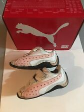 Puma Drift Cat II Diamonds Jr. Girls Running Shoes Pink White Size 7