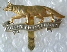 Badge- Queen's Own Yeomanry Cap Badge (Bi-Metal)
