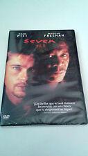 """DVD """"SEVEN"""" PRECINTADA SEALED DAVID FINCHER BRAD PITT MORGAN FREEMAN"""