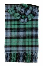 CAMPBELL ANCIENT TARTAN SCARF 100% LAMBSWOOL  by LOCHCARRON