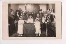 Vintage Postcard Luxembourg Royal Family Gathering