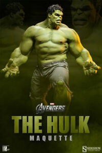 SIDESHOW  THE HULK  MAQUETTE AVENGERS LEGACY EFFECTS ARCHIVE SEALED SHIPPER NEW