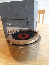 WW2 RAF Military Brass Compass [ Type 0.2B ],Original box.   E618