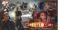 """Doctor Who Episode Stamp Cover """"Last Of The Time Lords"""" - Signed by ADJOA ANDOH"""
