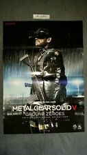 POSTER METAL GEAR SOLID V GROUND ZEROES NEUF