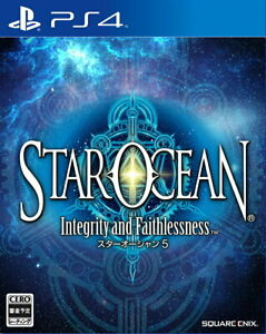 Star Ocean 5-Integrity and Faithlessness Sony PS4 From Japan Tracking USED