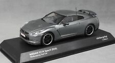 Kyosho Nissan GT-R Spec V R35 Nurburgring Test Car in Grey Metallic 03742NU 1/43
