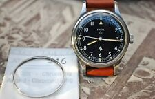 SMITHS W10 REPLACEMENT WATCH ACRYLIC CRYSTAL WITH CHROME RING-BRAND NEW!
