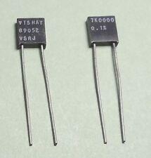Qty(2) Vishay 7.0000K VSRJ Metal Foil Resistors 0.1% Copper Leads NOS
