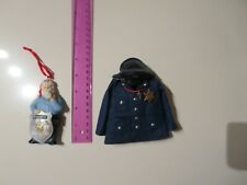Christmas Ornaments - Blue Jacket with Hat & Whistle - Santa in Police Uniform