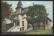 Postcard Easton Pennsylvania/Pa Town Area City Hall Building view 1907