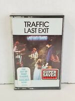 Traffic Last Exit sealed cassette Island Records 7 90925-4 1988 USA