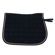 Cotton English Half Horse Saddle Pad for Jumping, Riding, Training, Eventing