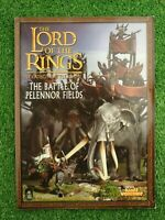 The Lord of the Rings Battle Pelennor Fields Games Workshop Paperback Book