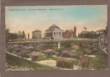 Vintage Postcard Unused Syracuse University New York
