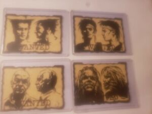 X-men TimeLines Wanted Poster cards 1997