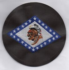 USAF Patch 154th TRAINING SQUADRON. C-130s, WWII style, Embroidered into Leather