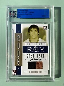 ITG Ultimate Vault 1/1 Alex Ovechkin R.O.Y. Jersey Ruby UM6 Gold 1/1 Rookie RC