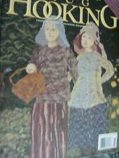 Rug Hooking Magazine November December 1997 Welcome/Pat's Poppies/Christmas Orna