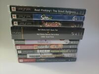 Psp Game Lot Bundle 10 Games Like New/New Condition Socom 1-3 Sims 2 Patapon 1 2