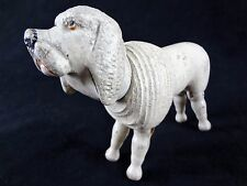 Poodle - Schoenhut Vintage Toys; Antique Wooden Animals; Humpty Dumpty Circus