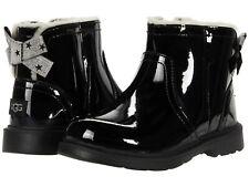 Toddler UGG Australia Lynde Patent 1116140T Black 100% Authentic Brand New