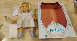 Real Baby Wide Eyed Doll 1985 In Open Box Vintage Judith Turner Hasbro RARE