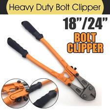 "18''/ 24"" Bolt Clipper Cutter Wire Cutting Pliers Vanadium Steel Clamp Head"