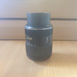 Panasonic Lumix G Vario 45-200mm f/4.0-5.6 Aspherical AF Mega O.I.S Lens (Y9)